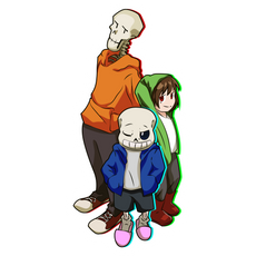 Bad Time Trio Sticker