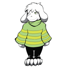 Undertale Asriel Kid
