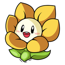 Undertale Baby Flowey Sticker