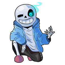 Undertale Sans Sticker