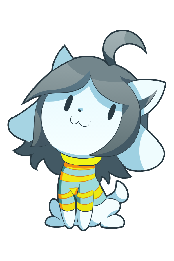 Undertale Temmie Shopkeeper Sticker