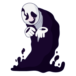 Undertale W. D. Gaster Sticker