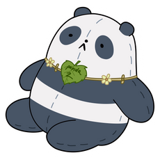 We Bare Bears Panda 2 Sticker