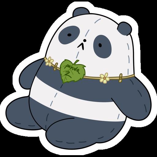 We Bare Bears Panda 2 Sticker