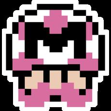 Markiplier Pink Mushroom Sticker