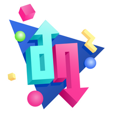 DOPE or NOPE Logo Sticker