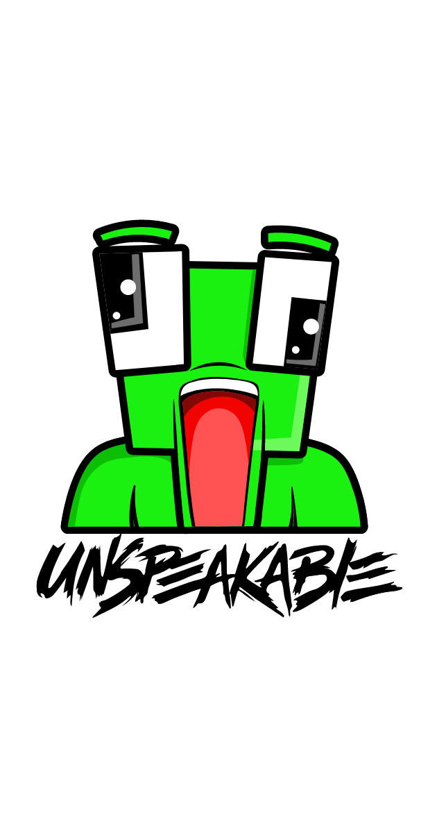 Unspeakable Frog Logo Sticker
